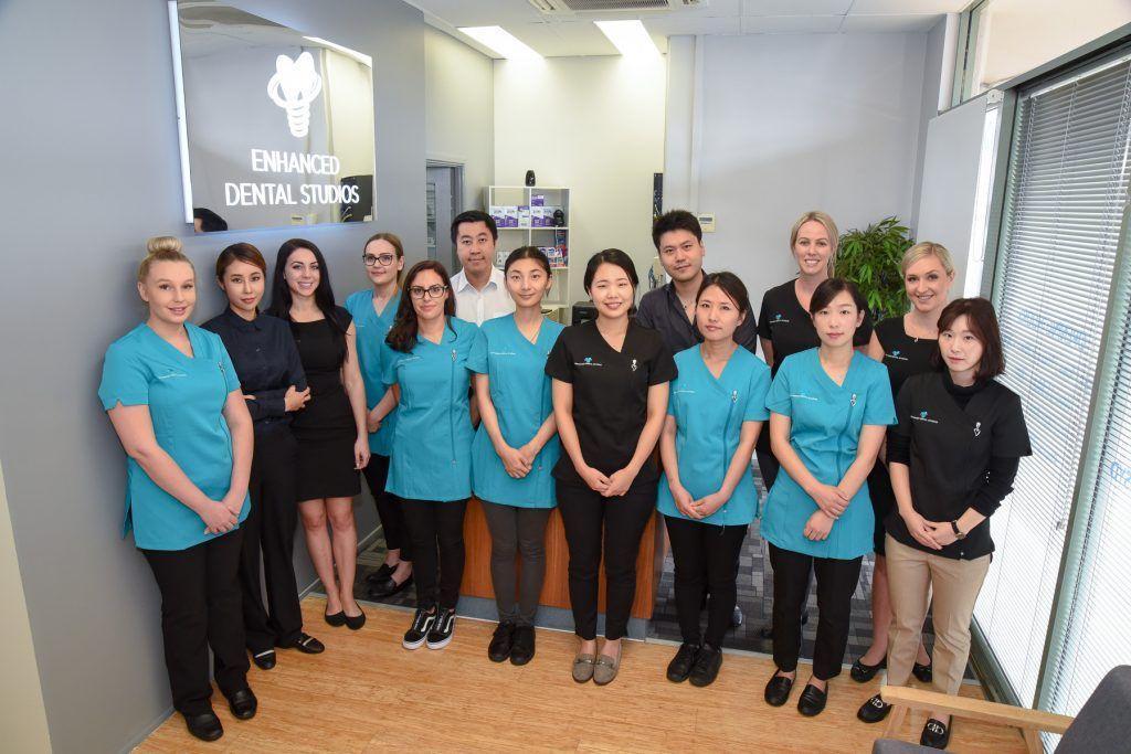 Enhanced Dental Studio team